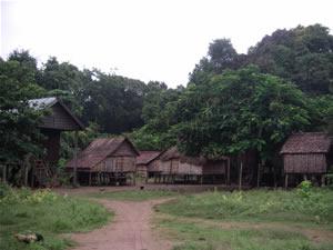 クルン族の村