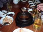 ピョンヤンレストランの犬鍋
